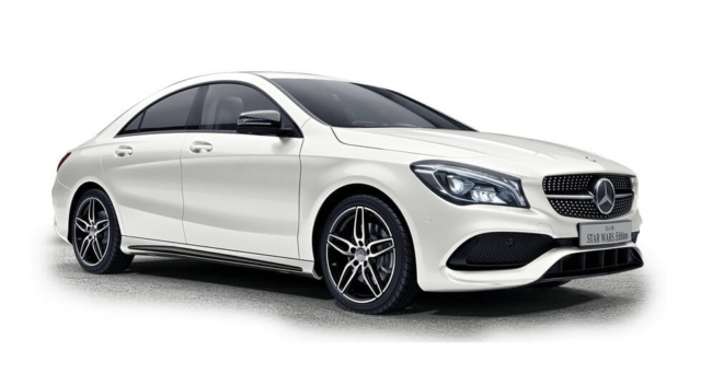 Mercedes-Benz CLA Star Wars Edition Calcite White