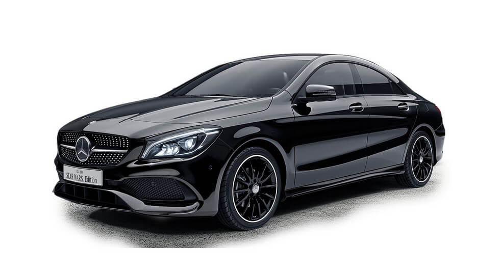 Mercedes-Benz CLA Star Wars Edition Night Black
