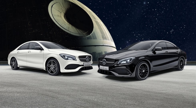 Mercedes-Benz CLA Star Wars Edition